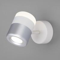 Спот Oskar 20165/1 LED белый/серебро
