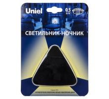 Ночник DTL-320 Треугольник/Black/Sensor