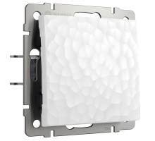 Выключатель Встраиваемые механизмы Hammer белые W1212001