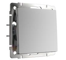 Кнопка звонка Встраиваемые механизмы серебряные W1114506