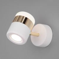 Спот Oskar 20165/1 LED золото/белый