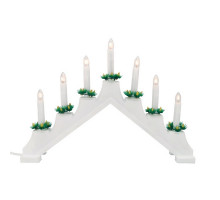 Декоративная свеча UDL-L7101-007/SWA/WW WHITE BRIDGE