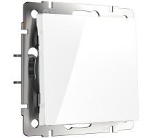 Кнопка звонка Встраиваемые механизмы белые W1114501