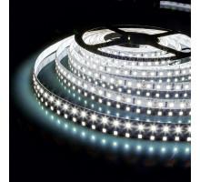 Светодиодная лента 12V 9,6W IP65 Лента светодиодная 12V 9,6W 120Led 2835 IP65 холодный белый, 5м