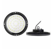 Промышленный купольный светильник ULY-U34C-100W/6500K IP65 BLACK
